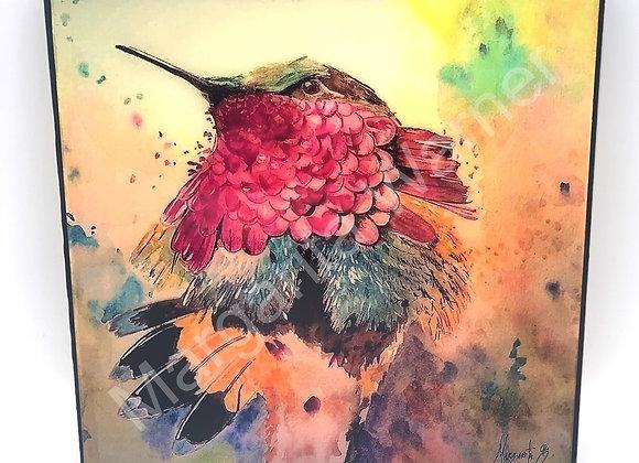 """Hummingbird art 8x8"""""""