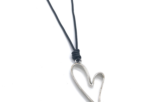 Forever in my Heart Heart Necklace