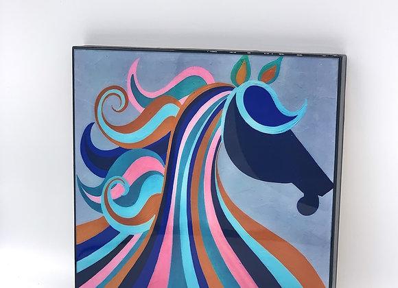"Horse art 8x8"""