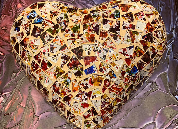 Confetti Love Heart