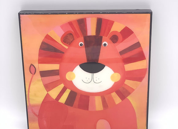 "Lion art 8x8"""