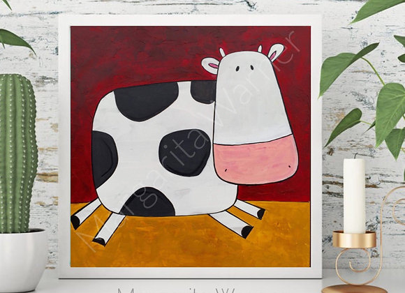 Cow Wall Art