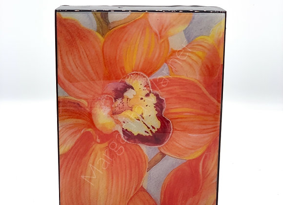Orchid Flower Watercolor Art