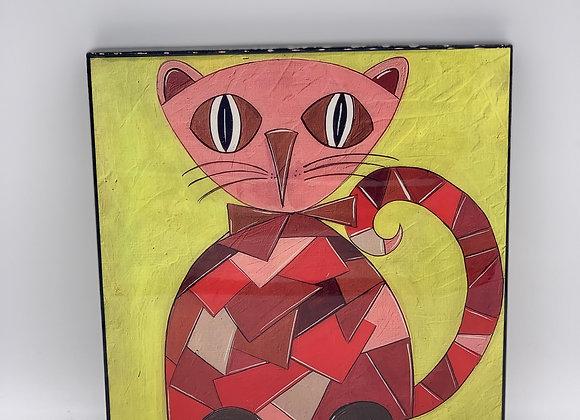 """Puzzle Cat art 8x8"""""""