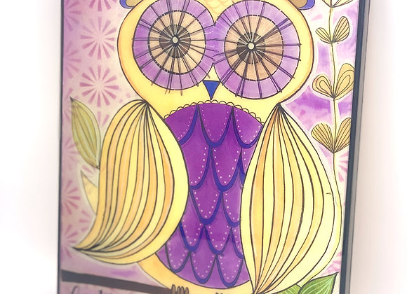 OWL HAPPINESS IN SPIRITUALY