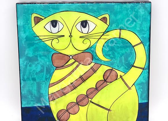 """Vanity Cat art 8x8 """""""