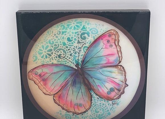 "Butterfly art 8x8"""