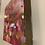 "Thumbnail: Polka Dots in gold and pinks 12x12"""
