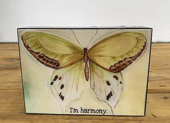 "I'm harmony Butterfly 5x7"""
