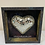 "Thumbnail: Looking Glass framed Heart 9x9x2"""