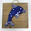 Thumbnail: Nautic blue Dolphin Mosaic Wall Art