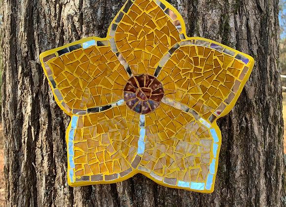 Wall Mosaic Art Sun flower.