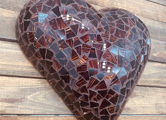 Mosaic Chocolate Heart