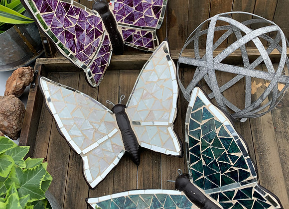 Hand crafted butterflies.