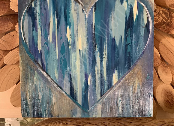 """AMORE #4 6x6"""" painting"""