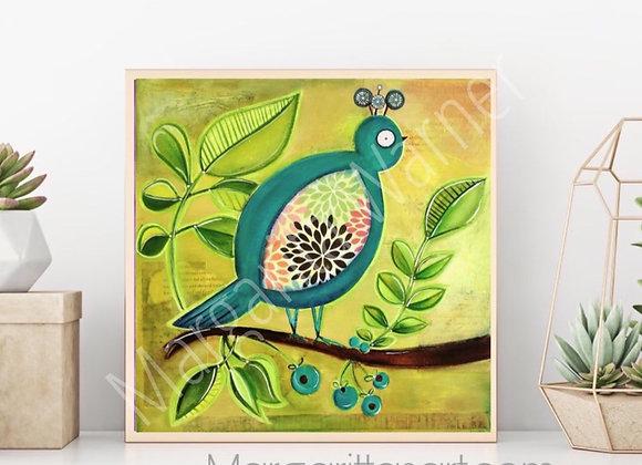 Singing Bird Painting
