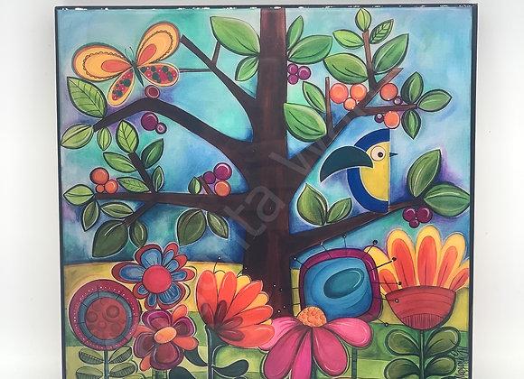 """Wonderland art 8x8"""""""