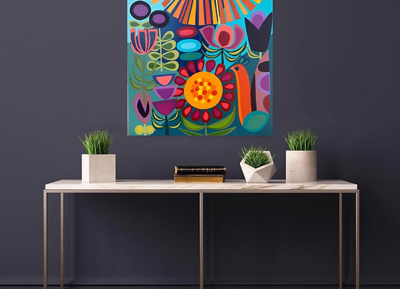 You Are My Sunshine Original Painting