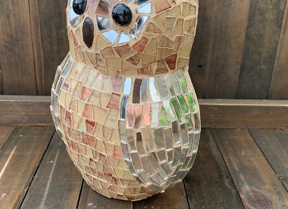 Owl Mosaic wall art