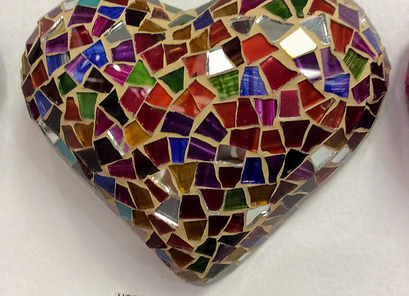 Hand crafted Mosaic heart