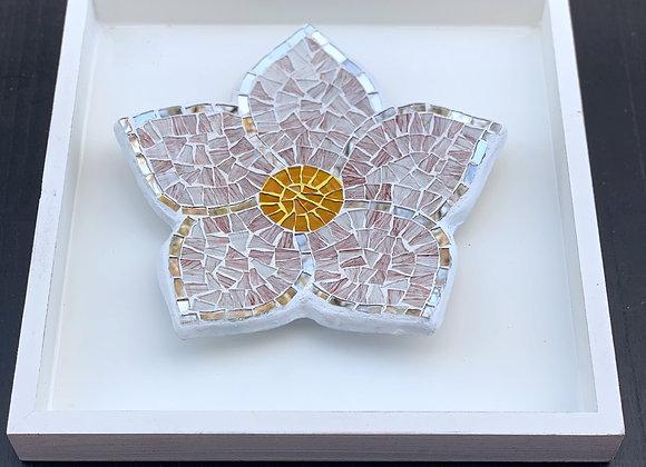 Margarita Mosaic art flower / Wall Decor /