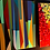 "Thumbnail: Geometrical Style /Stripes Art / 36x24"" / Original Paintin"