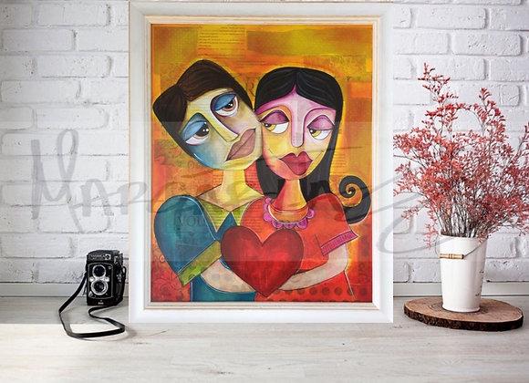 I love You Original Painting