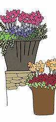 お庭のベンチ工事
