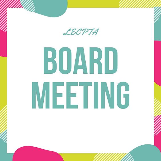 October Board Meeting