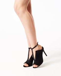 ANGIE BLACK SUEDE