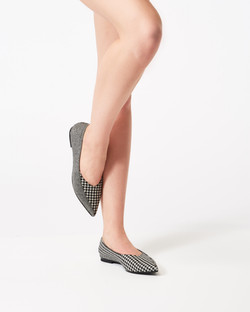 ROSE MULTI HOUNDSTOOTH