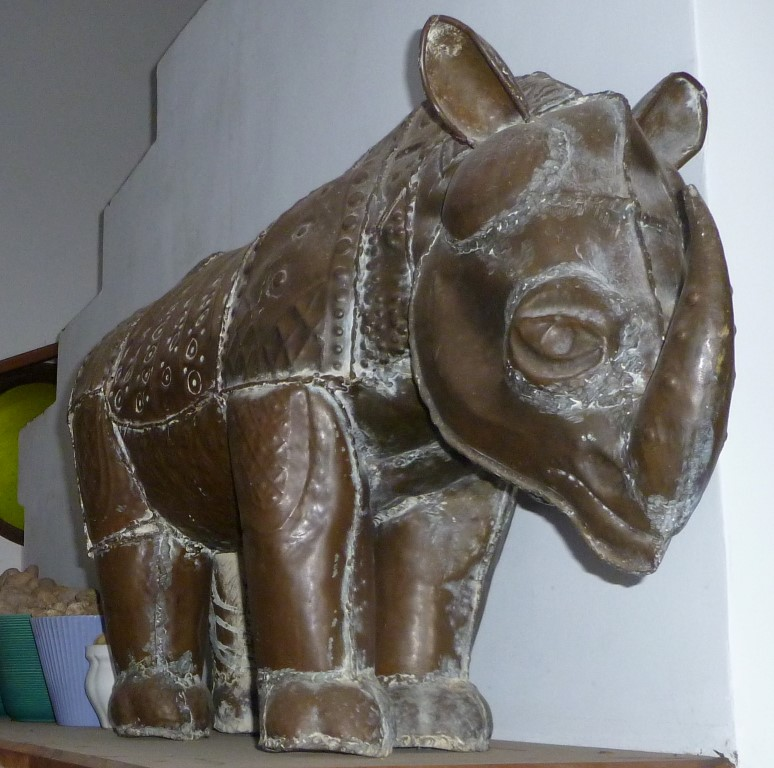 Rhino By L.Senanayake