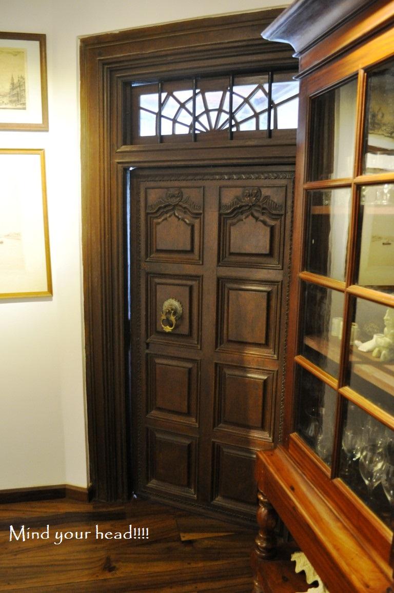 Entrance door ( mind your head!!!)