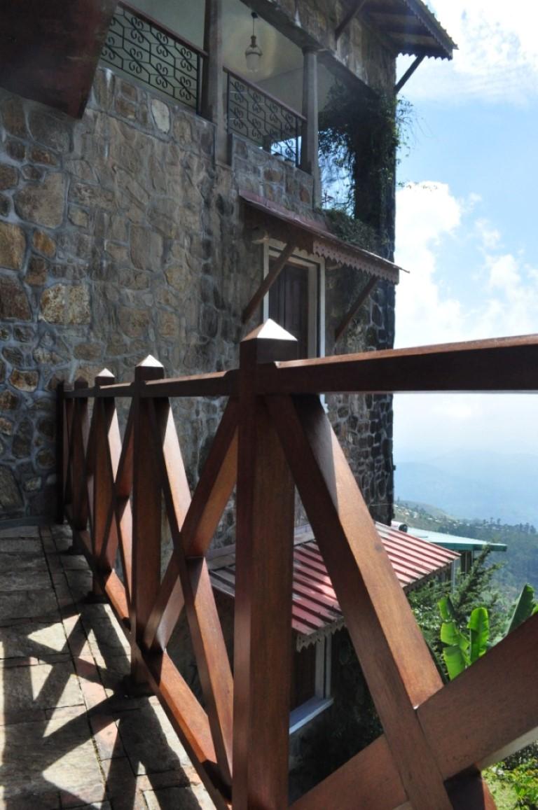 Terrace (Eastern view)