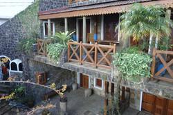 Front side terrace