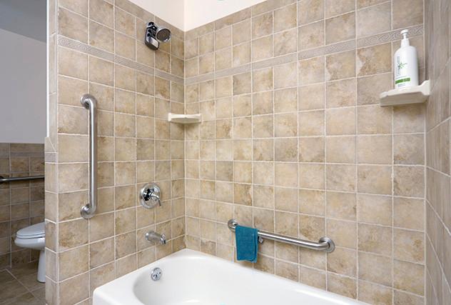Universal Design Bath and Shower