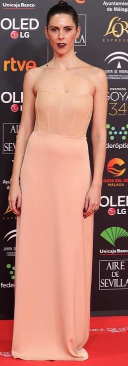 Bárbara Santa Cruz Gala Premios GOYA 2020