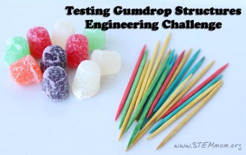 engineering, gumdrop structure, science, physics, STEM, STEME, STEME Youth Career Development Program