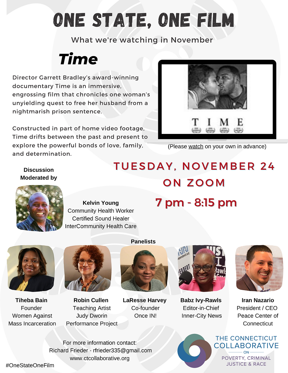 TIME - One State One Film Flyer 1113.png