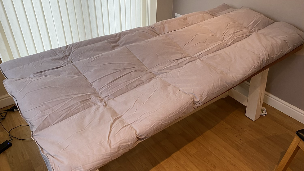 100% Feather Down Duvet-and-a Half. 10.5 / 13.5 Tog.