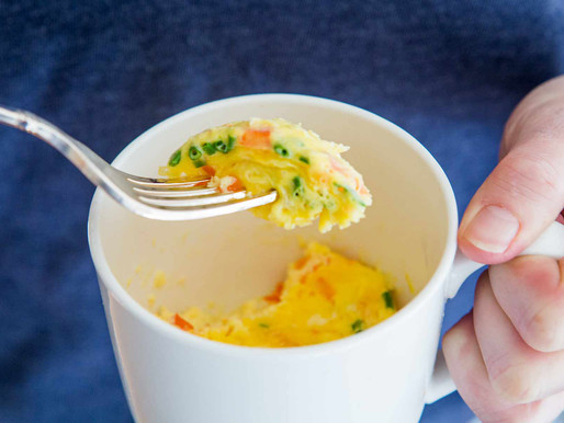 how to make an omelete in a mug in 2 minutes