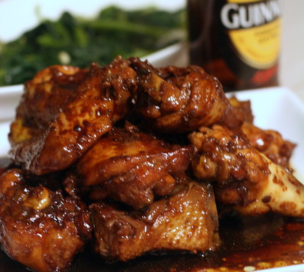 how to make Easy Guinness chicken