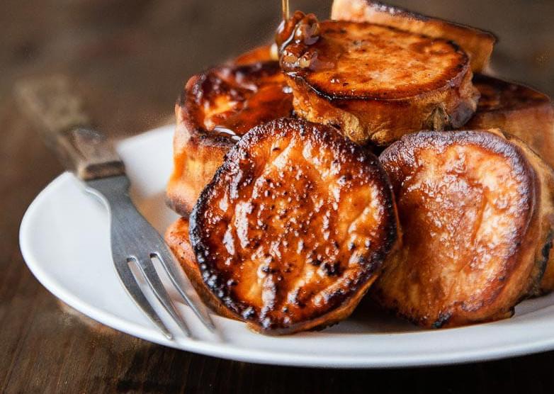 Sweet potatoe melts