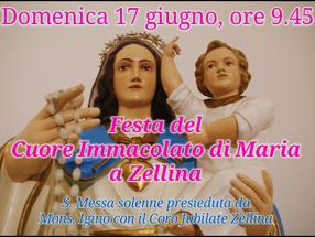 Festa del Cuore Immacolato di Maria