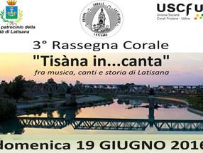 Concerto itinerante a Latisana - 19 giugno