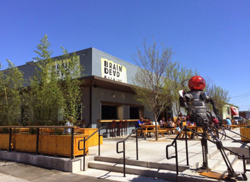 BrainDead Brewing:  A cool time on a hot afternoon