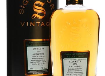 Glen Keith 1992--a Wonderful Scotch