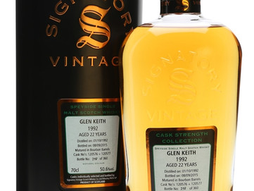 Glen Keith 1992--a Wonderful Scotch