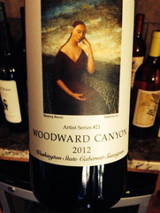 2012 Woodward Canyon Cabernet Sauvignon Artist Series #21