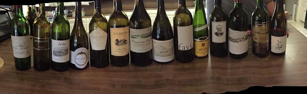 Blind wine tasting Halloween 2016